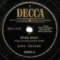 Cover Bing Crosby - Star Dust [1939]